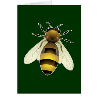 Honey Bee Greeting Card