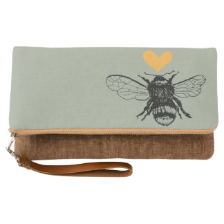 Honey Bee Heart Clutch