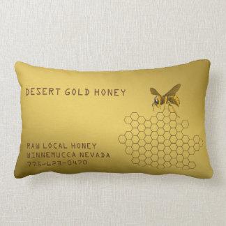 Honey Bee Honey Seller Beekeeper Apiarist Custom Lumbar Pillow
