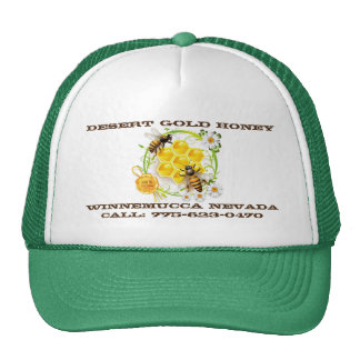 Honey Bee Honey Seller Beekeeper Apiarist Custom Trucker Hat