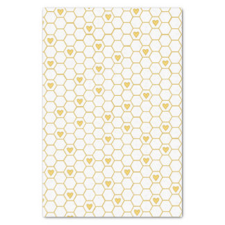 Honey Bee Honeycomb Tissue Paper