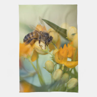 Honey Bee In The Spring Kitchen Towel