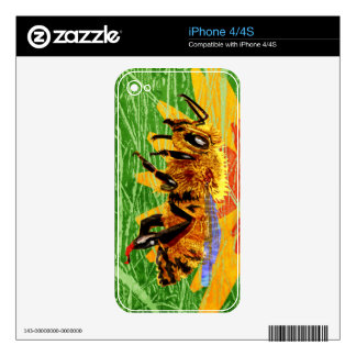 Honey Bee iPhone 4 Decal