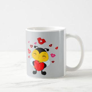 Honey bee kiss -Mug Coffee Mug