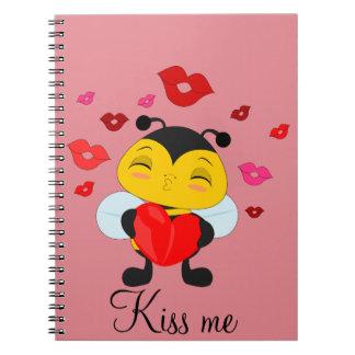 Honey bee kiss - Photo notebook