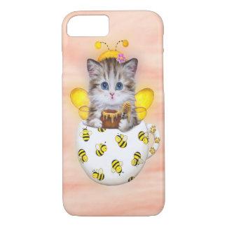 Honey Bee Kitty iPhone 8/7 Case