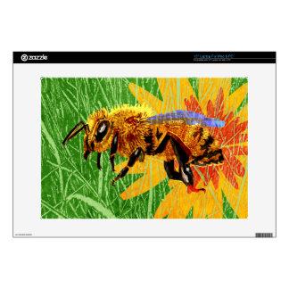 Honey Bee Laptop Skin