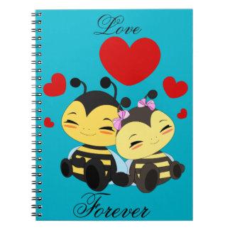 Honey bee love - Photo notebook