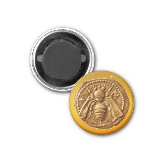 HONEY BEE 1 INCH ROUND MAGNET