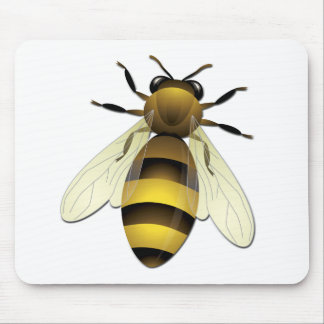 Honey Bee Mouse Pad