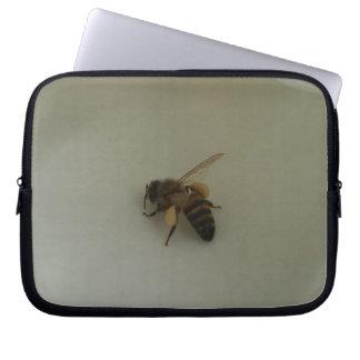Honey Bee Neoprene Laptop Sleeve 10 inch