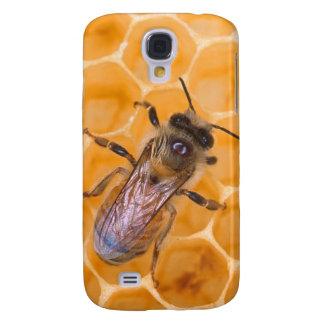 Honey Bee on Comb Galaxy S4 Case
