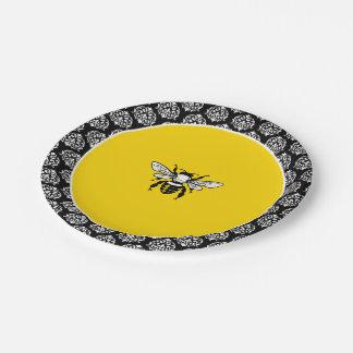 Honey Bee Paper Plate