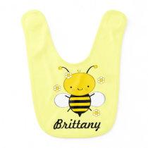Honey Bee Personalized Infant Baby Bib