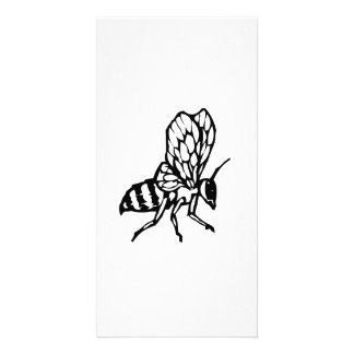 Honey Bee Photo Card Template