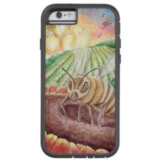 """Honey Bee"" Pollinate Watercolor Original Art Case"