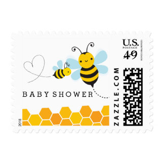 Honey Bee Postage Stamp