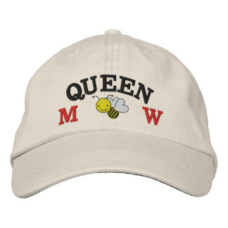 Honey Bee - Queen Bee - Save the Bee Embroidered Baseball Cap