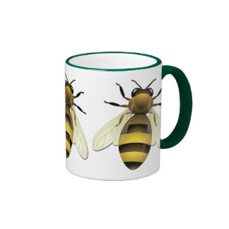 Honey Bee Ringer Coffee Mug
