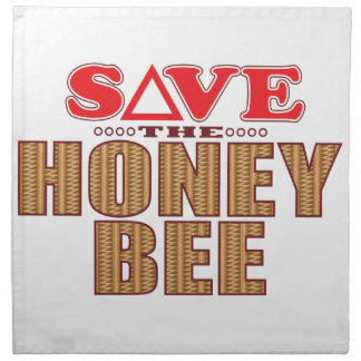 Honey Bee Save Cloth Napkin