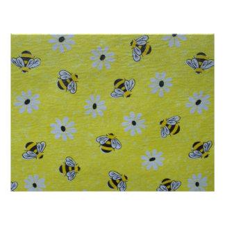 Honey Bee Scrapbooking Paper
