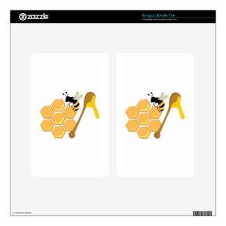 Honey Bee Decal For Kindle Fire