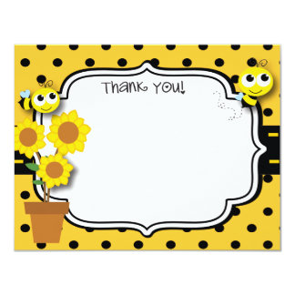Honey Bee Thank You Card