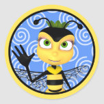 Honey Bee Toon Sticker