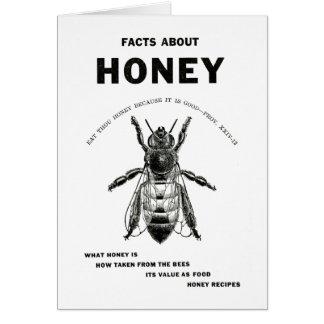 Honey Bee Vintage Advertising Card