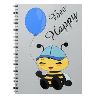 Honey bee with balloon - Photo notebook