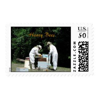 Honey bees 101 postage