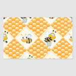 Honey Bees and the Hive Stickers