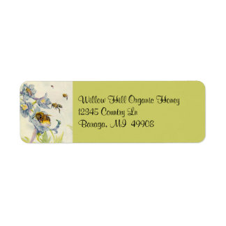 Honey Bees Beekeeping Beekeeper Ret Address Labels