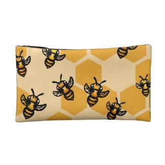 Honey Bees Cosmetic Bag