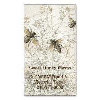 Honey Bees Custom Business Magnet