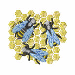 Honey Bees Embroidered Hoody