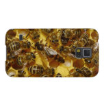 Honey Bees in Hive with Queen in Middle Cases For Galaxy S5