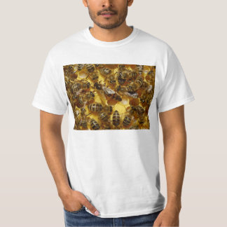 Honey Bees in Hive with Queen in Middle T Shirt