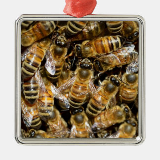 HONEY BEES INSECT CAUSES BACKGROUNDS WILD BUMBLEBE CHRISTMAS TREE ORNAMENT