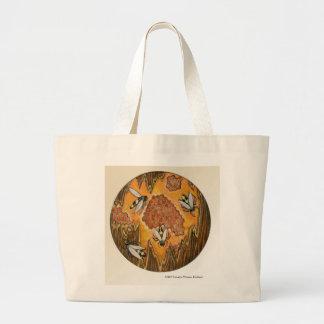Honey Bees Jumbo Tote Bag