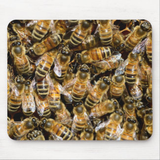 Honey bees mouse pad