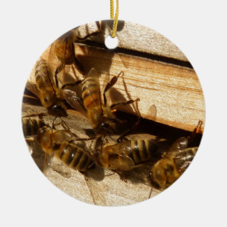 Honey Bees Christmas Tree Ornaments