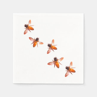 Honey Bees Paper Napkin