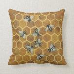 Honey Bees Pillow