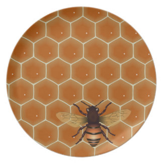 Honey Bees Plate