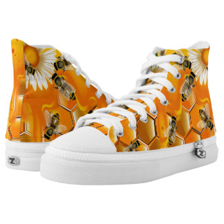 Honey Bees Printed Shoes