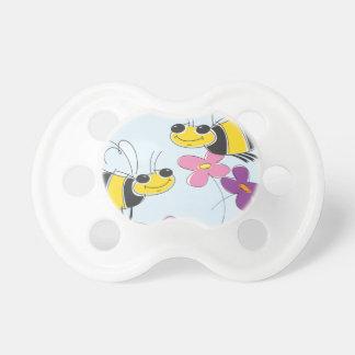 Honey Bees & Spring Flowers Pacifier