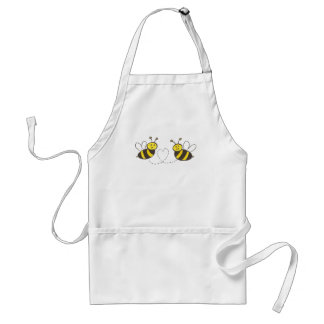 Honey Bees with Heart Adult Apron