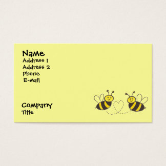 Honey Bees with Heart Business Card
