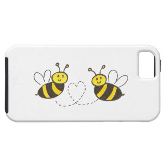 Honey Bees with Heart iPhone 5 Case